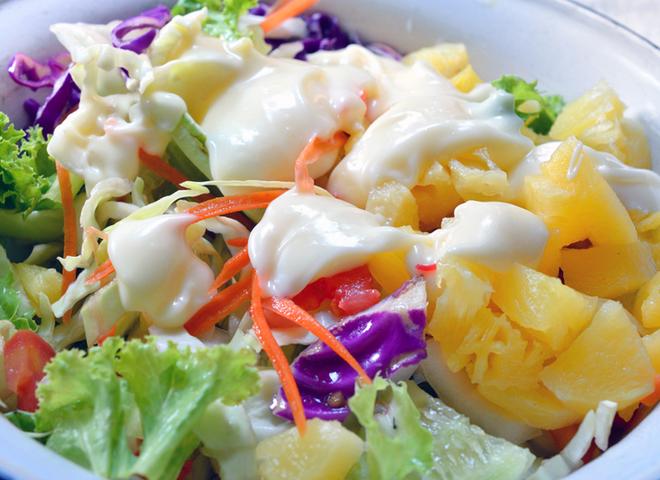 Гавайський салат на Новий рік