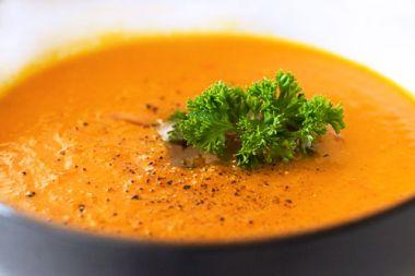 Морквяний суп з апельсином та імбиром