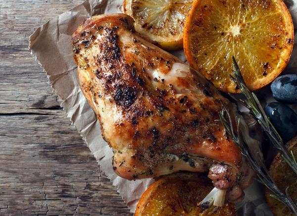 Як приготувати кролика: рецепт з оливками і апельсином