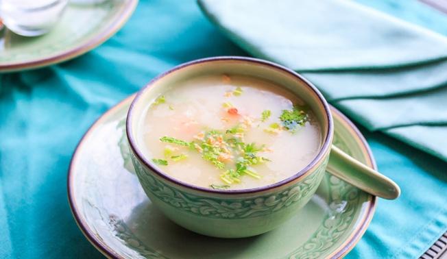 Овочевий суп з рисом
