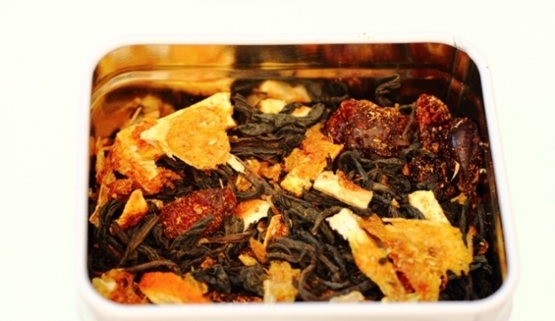 Цитрусовий чай з журавлиною в домашніх умовах