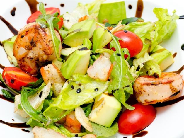 Салат із морепродуктів