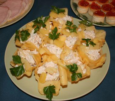 Сирні лілії зі смачною начинкою