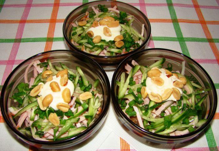 Новые рецепты салатов 2013г приготовление фото